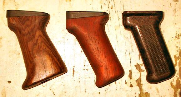 Home-made Wooden Pistol Grip